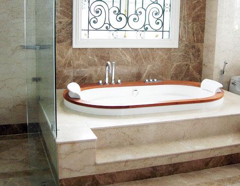 Phòng tắm sử dụng thiết bị vệ sinh cotto