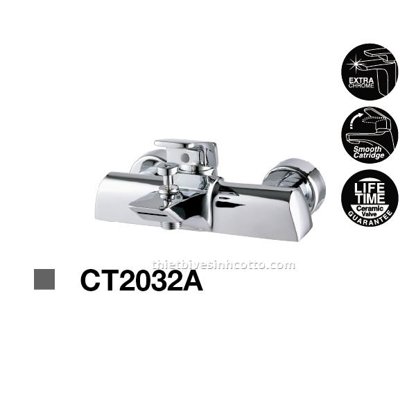 Sen tắm nóng lạnh gắn tường Cotto CT2032A