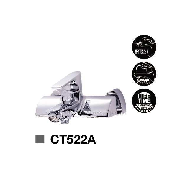 Sen tắm nóng lạnh gắn tường Cotto CT522A