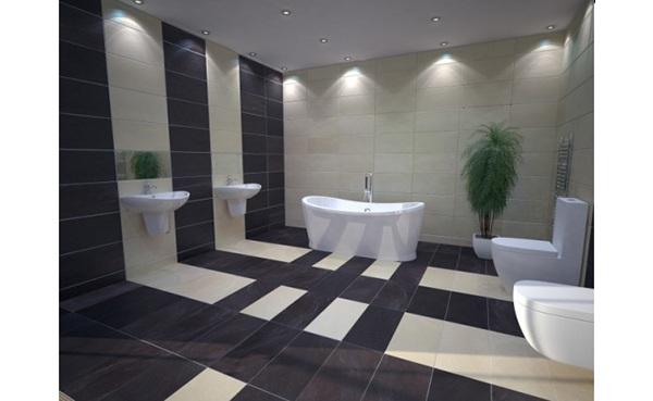 Thiết bị vệ sinh Cotto giúp phòng tắm chung cư đẹp hơn