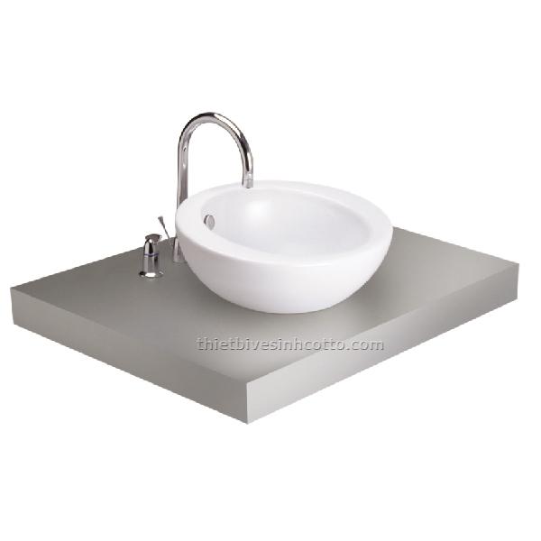 Chậu rửa đặt bàn Cotto C02507
