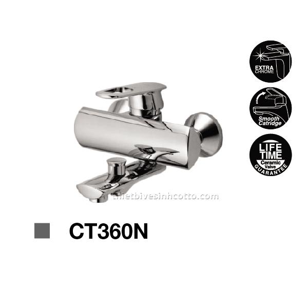 Sen tắm nóng lạnh gắn tường Cotto CT360N