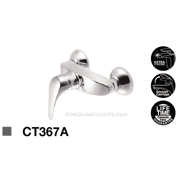 Sen tắm nóng lạnh âm tường Cotto CT367A