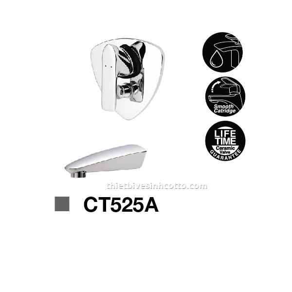 Sen tắm nóng lạnh âm tường Cotto CT525A