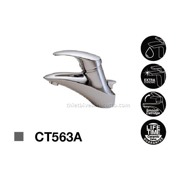 Vòi chậu nóng lạnh Cotto CT563A